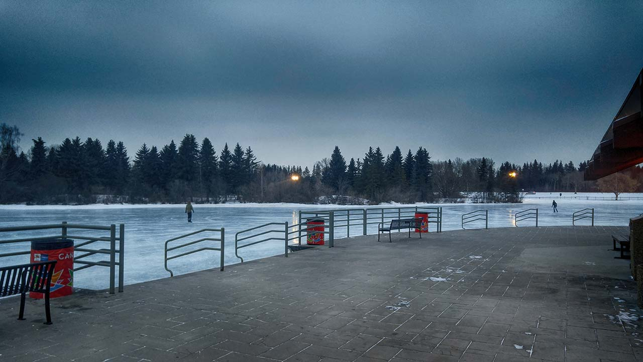 Frisbee on Ice – CTV Edmonton Morning with Rob Williams