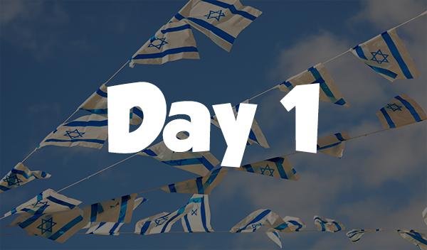 Day 1 – Israeli Frisbee Trip