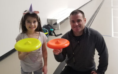 Frisbee and Unplugging at Imperial School
