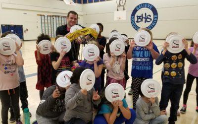Frisbee Workshops at Beddington Heights Elementary
