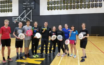 Frisbee and Unplugging at Beaverly and Vanway Elementary