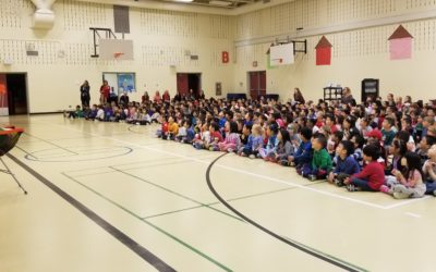 Frisbee and Unplugging at Panorama Hills School