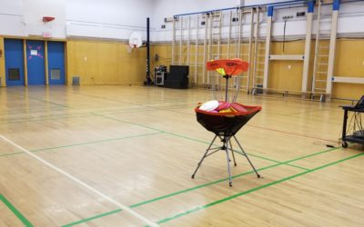 Frisbee and Unplugging at Earl Grey School