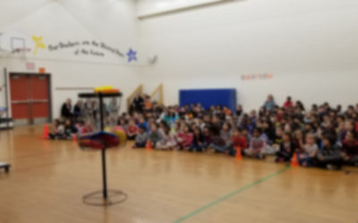 Frisbee and Unplugging at Brightview Elementary