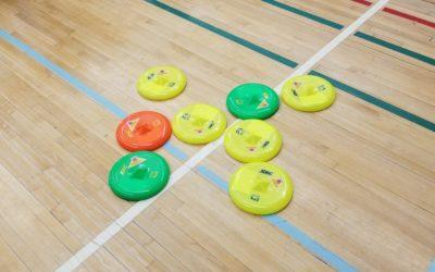 Sports Day Frisbee at Varsity Acres Elementary School