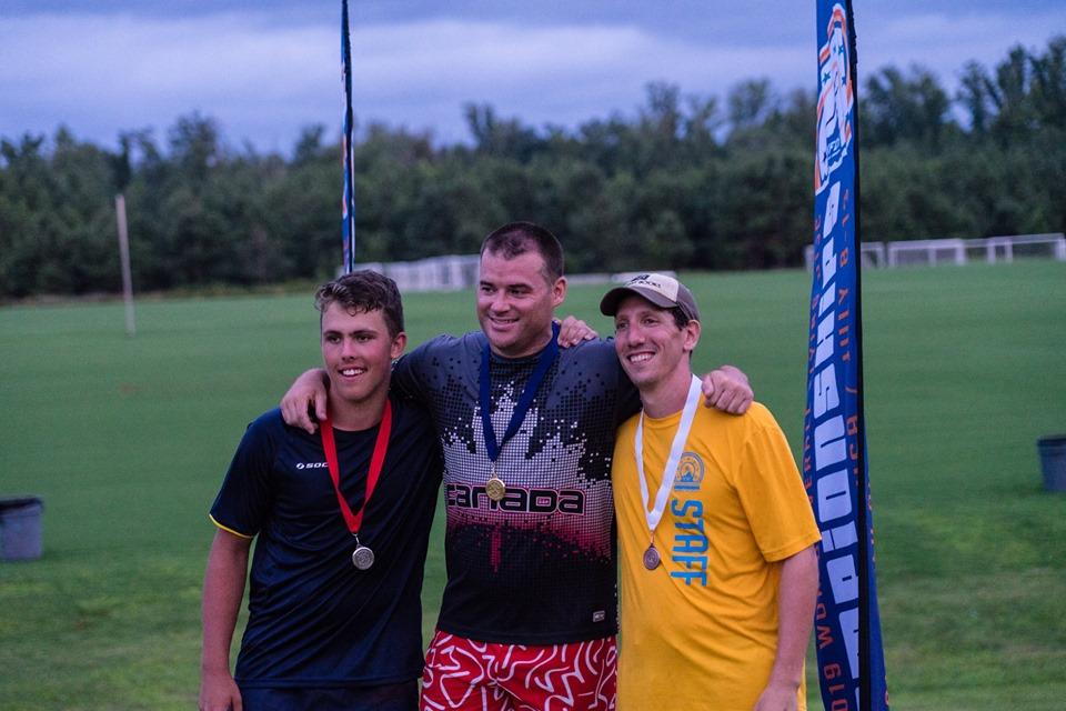 Frisbee Rob Wins 5th Consecutive World Championship in Self Caught Flight