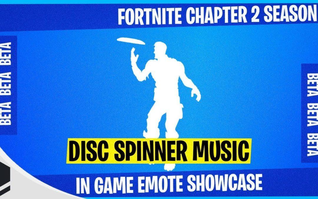 Fortnite Chapter 2 Adds Disc Spinner Emote