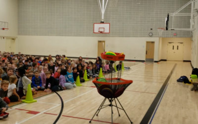 Frisbee and Unplugging at St. Kateri School