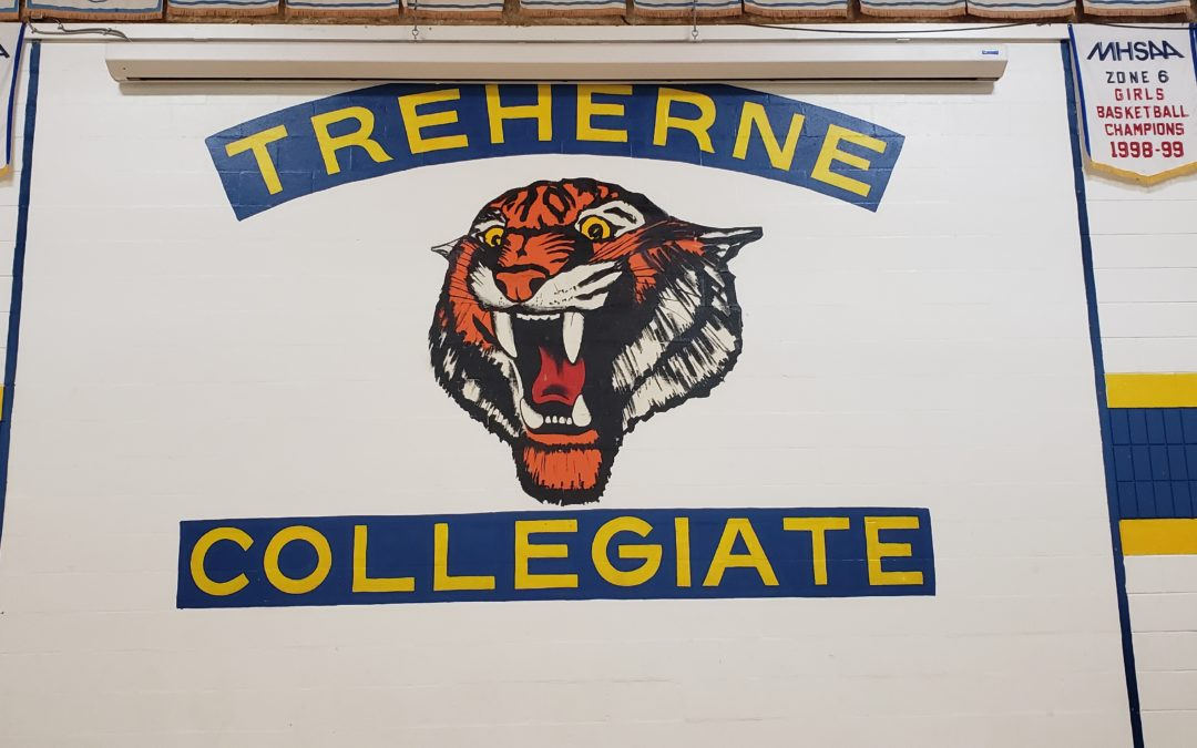 Frisbee and Unplugging at Treherne Collegiate