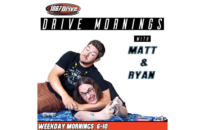 Talking Frisbee with Matt & Ryan from Drive Mornings