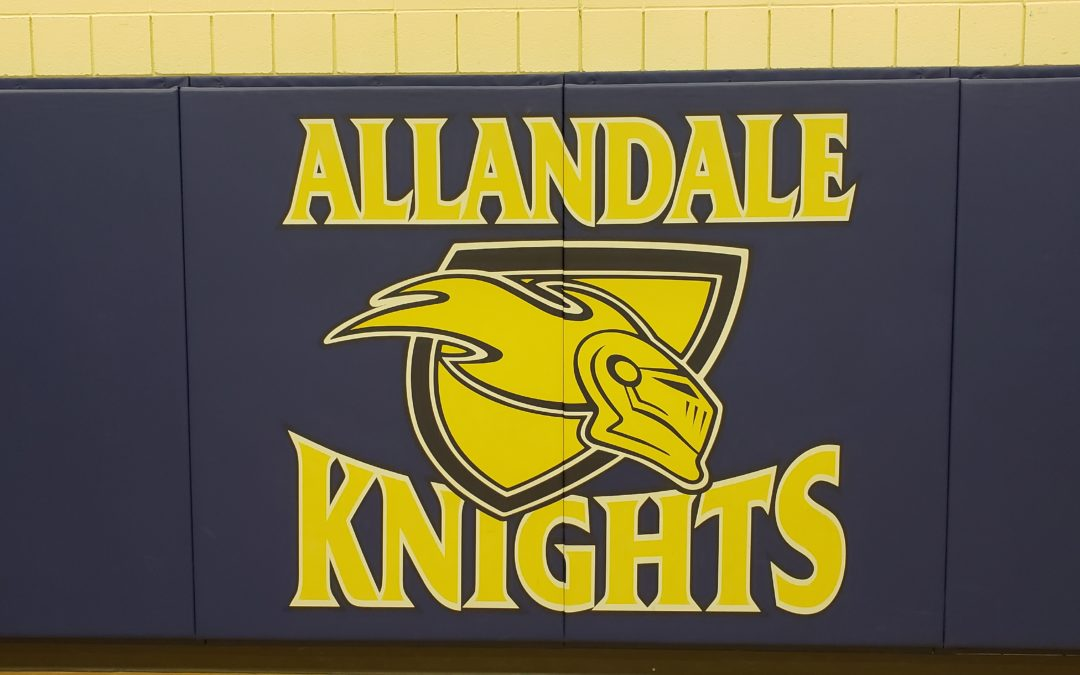 Frisbee and Unplugging at Allandale Heights Public School
