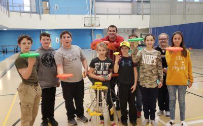 Youth Zone After School Frisbee Workshop in Woodstock, NB