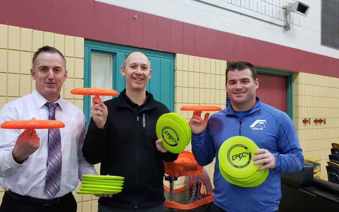 Frisbee Trick Shot and Workshops at Sunningdale Elementary School