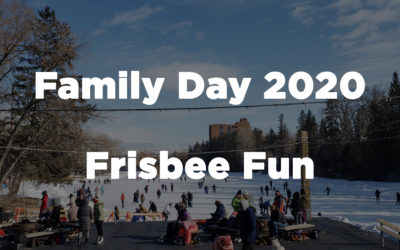 Family Day Frisbee Fun 2020 at Bowness Lagoon