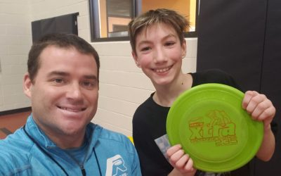 The Power of Yet – Student Tries Flying Disc Freestyle Combo