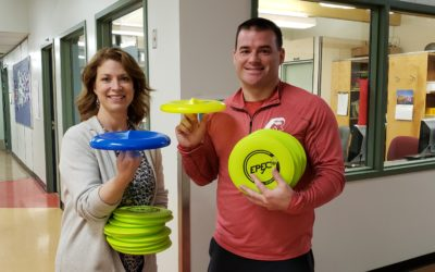 Physical Literacy Workshops and Frisbee Trick Shots at Walnut Park Elementary School