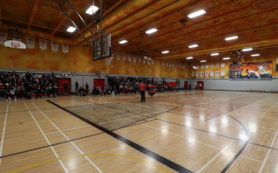 Capturing the Imagination Using Frisbee at Porter Creek Secondary