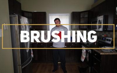 Air Brushing – Frisbee Skills