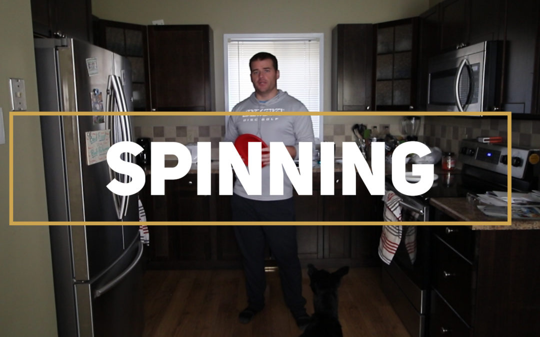 Spinning – Frisbee Skills