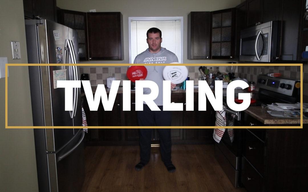 Twirling – Frisbee Skills