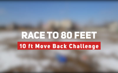 Race to 80 feet – 10 foot Move Back Putting Challenge